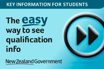 button to access a tool to search for information about tertiary qualifications