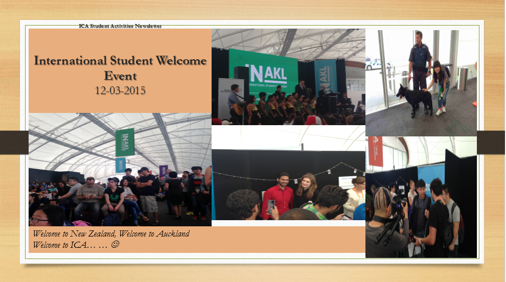 The Auckland International Student Welcome