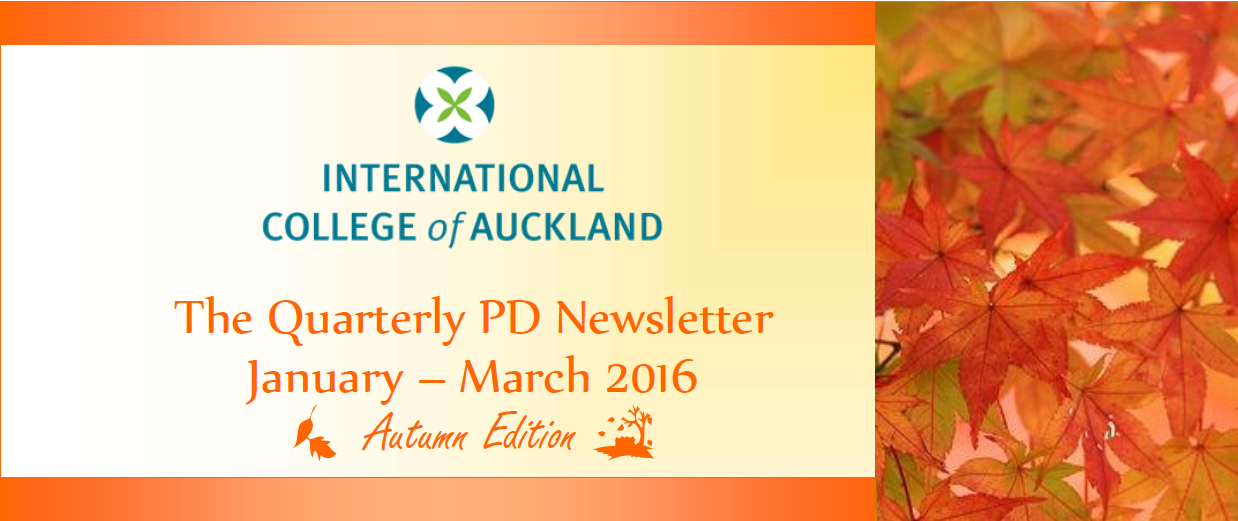 PD Newsletter Autumn 2016