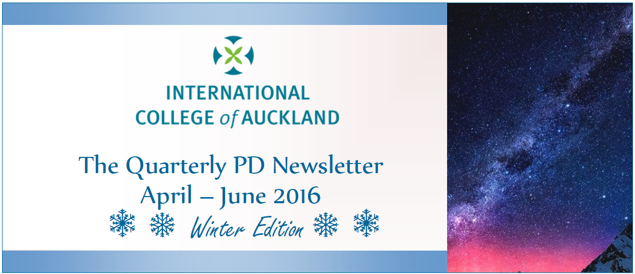 PD Newsletter Winter Editon 2016