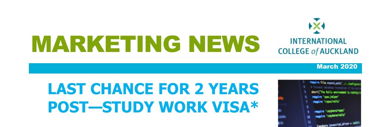 LAST CHANCE for 2 years post-study work visa