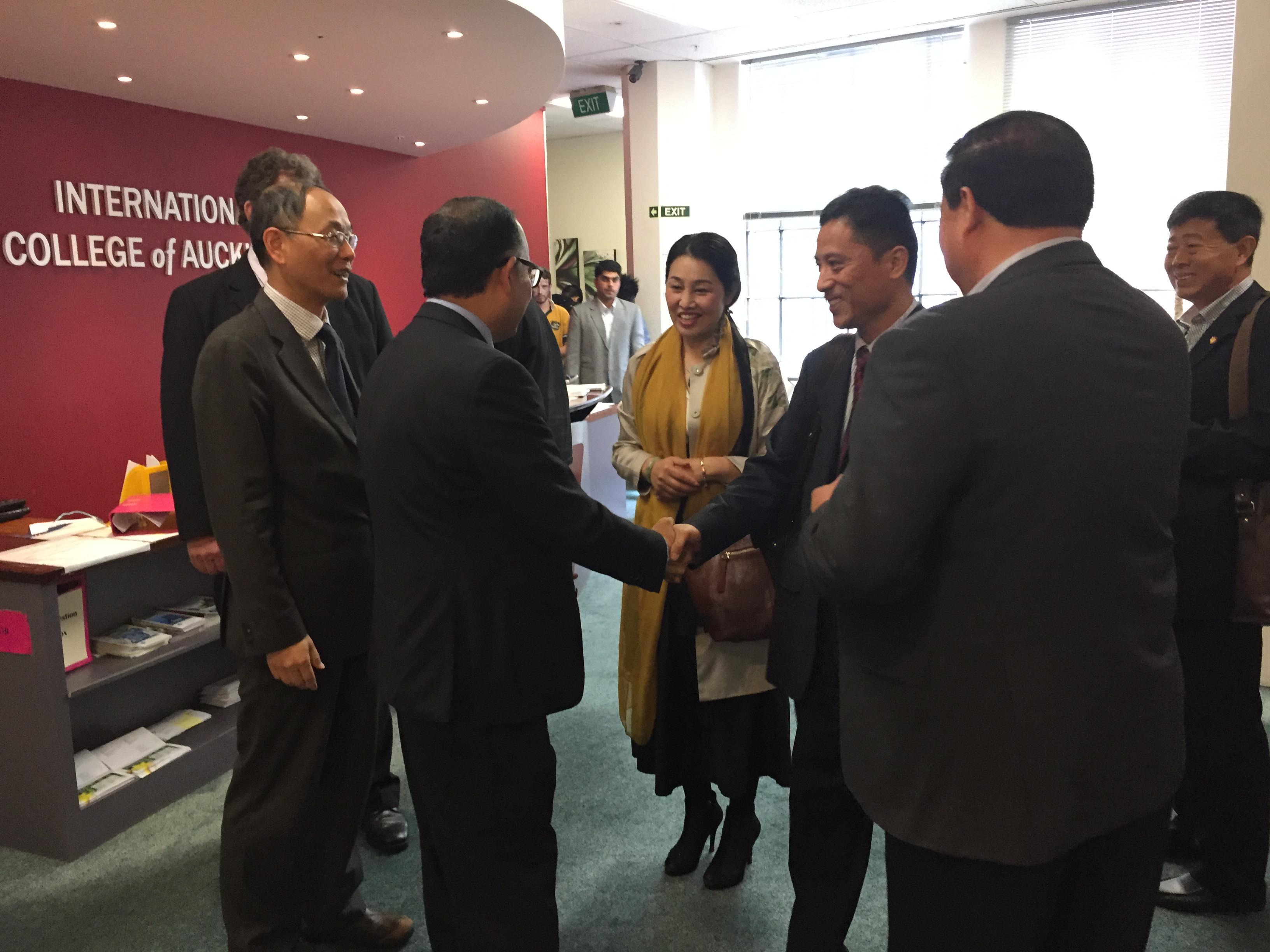 ICA welcomed a  senior management delegation from Heze University